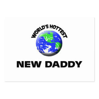 World's Hottest New Daddy Business Card Template