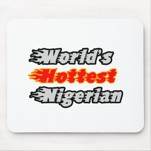 World's Hottest Nigerian Mouse Pads