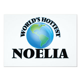 World's Hottest Noelia Announcement Card