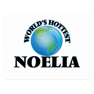 World's Hottest Noelia Postcard