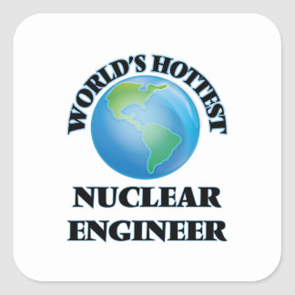 World's Hottest Nuclear Engineer Stickers