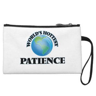 World's Hottest Patience Wristlet Clutch