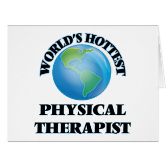 World's Hottest Physical Therapist Cards