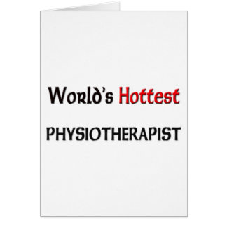 Worlds Hottest Physiotherapist Card
