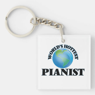 World's Hottest Pianist Acrylic Key Chains
