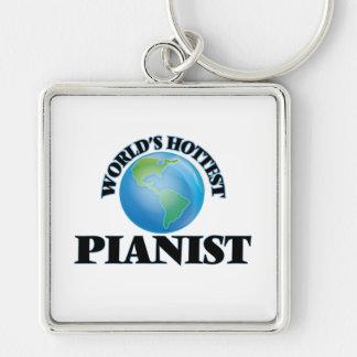 World's Hottest Pianist Keychains