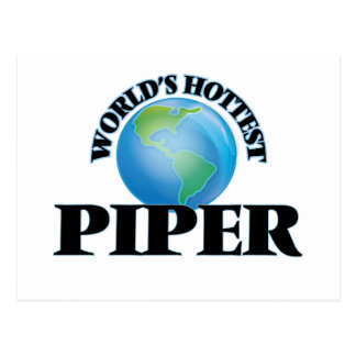 World's Hottest Piper Postcards