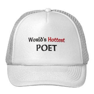 Worlds Hottest Poet Trucker Hats
