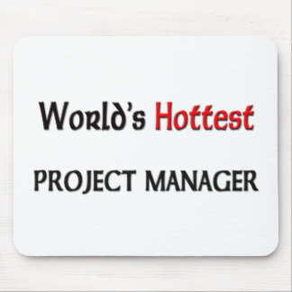 Worlds Hottest Project Manager Mouse Mat