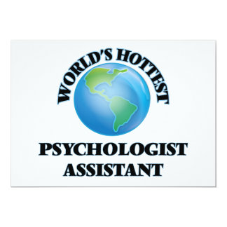 World's Hottest Psychologist Assistant Personalized Invites