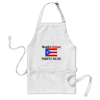 World's Hottest Puerto Rican Standard Apron
