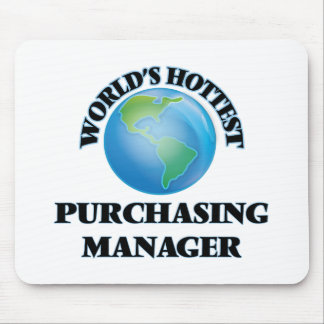 World's Hottest Purchasing Manager Mousepads