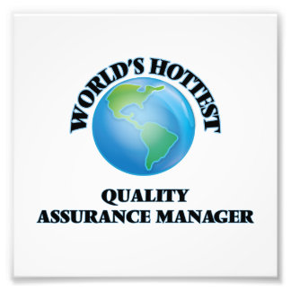World's Hottest Quality Assurance Manager Photo