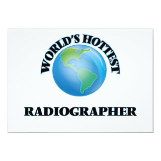 World's Hottest Radiographer Invitation