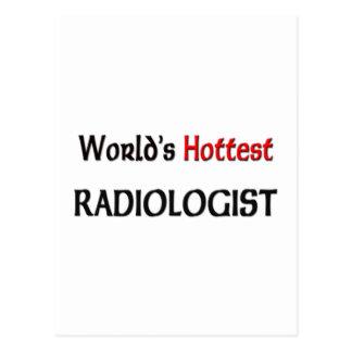 Worlds Hottest Radiologist Postcard