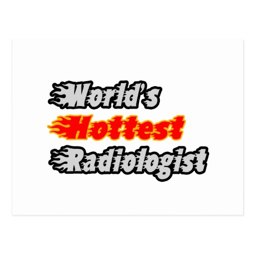 World's Hottest Radiologist Post Card