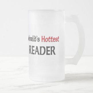 Worlds Hottest Reader Mug
