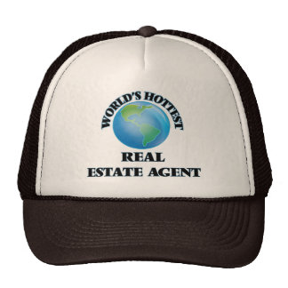 World's Hottest Real Estate Agent Hat
