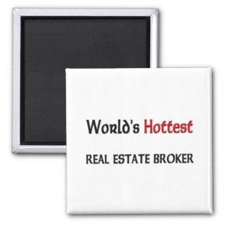 Worlds Hottest Real Estate Broker Square Magnet