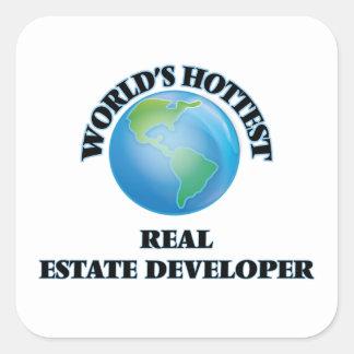 World's Hottest Real Estate Developer Stickers