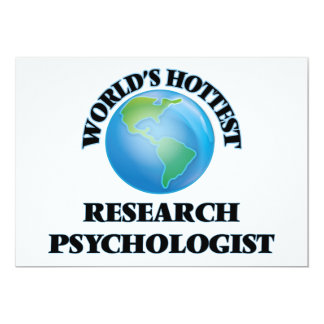 World's Hottest Research Psychologist Personalized Invites
