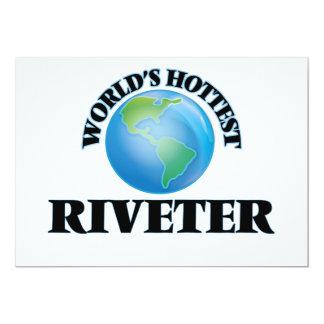 World's Hottest Riveter Custom Invites