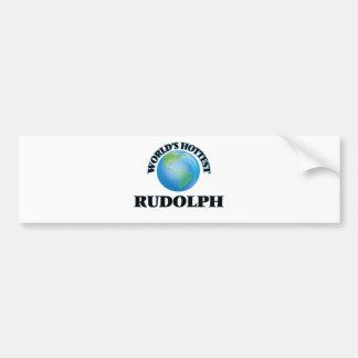 World's Hottest Rudolph Bumper Sticker