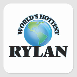 World's Hottest Rylan Square Sticker