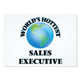 World's Hottest Sales Executive Announcement