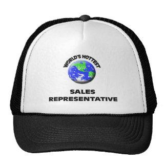 World's Hottest Sales Representative Trucker Hat