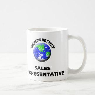World's Hottest Sales Representative Coffee Mug