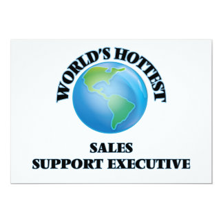 World's Hottest Sales Support Executive Personalized Announcement