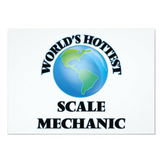 World's Hottest Scale Mechanic Announcement