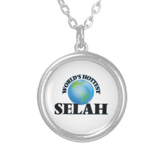 World's Hottest Selah Round Pendant Necklace