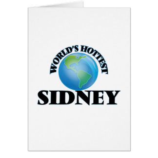 World's Hottest Sidney Cards