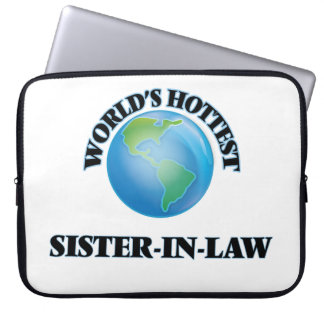 World's Hottest Sister-in-Law Laptop Computer Sleeves