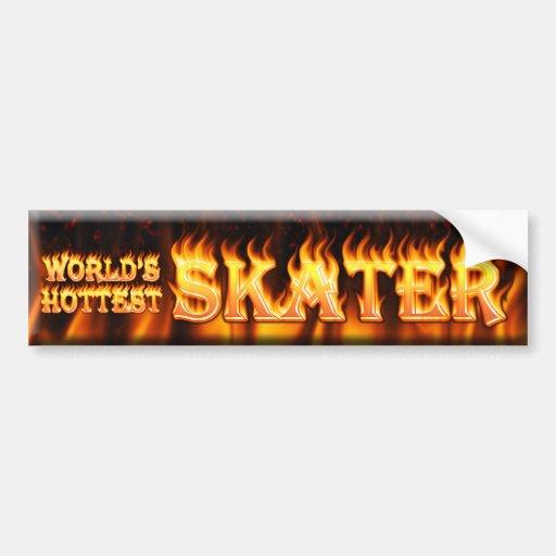 worlds hottest skater bumper stickers