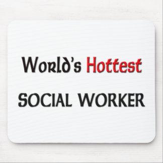 Worlds Hottest Social Worker Mouse Mat