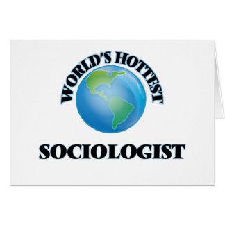 World's Hottest Sociologist Card