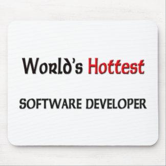 Worlds Hottest Software Developer Mouse Pad