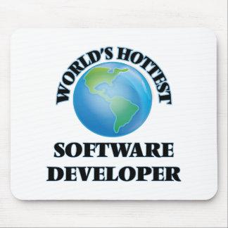World's Hottest Software Developer Mousepads