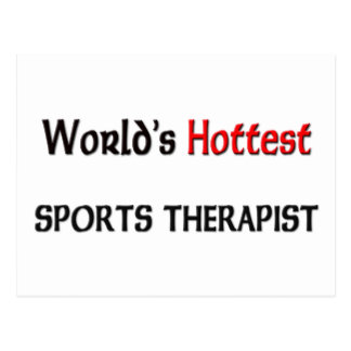 Worlds Hottest Sports Therapist Postcard