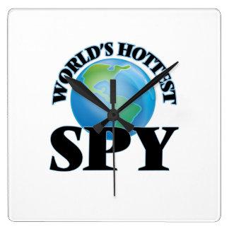 World's Hottest Spy Clocks