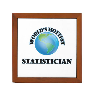 World's Hottest Statistician Desk Organiser