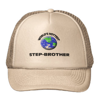 World's Hottest Step-Brother Trucker Hats