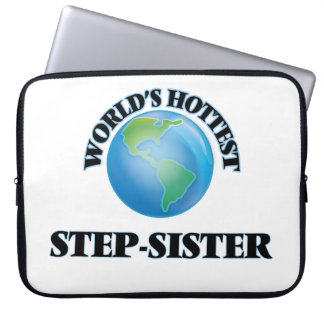 World's Hottest Step-Sister Computer Sleeves