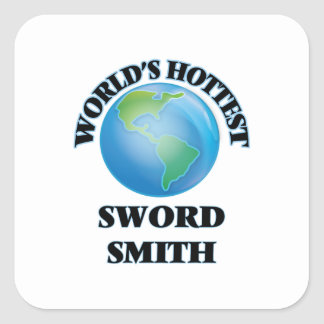 World's Hottest Sword Smith Stickers