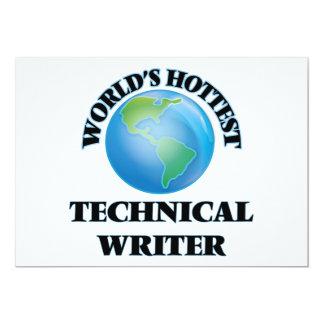 World's Hottest Technical Writer Custom Invites