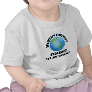 World's Hottest Timber Merchant T-shirt
