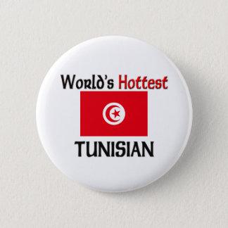 World's Hottest Tunisian 6 Cm Round Badge